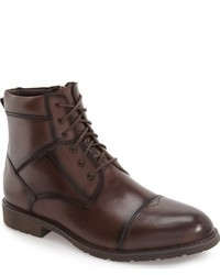 Hart Schaffner Marx San Jose Cap Toe Lace Up Boot