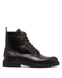 PS Paul Smith Textured Lace Up Boots