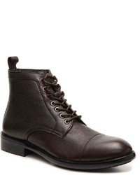 Kenneth Cole Reaction Truck Er Cap Toe Boot  Dark Brown