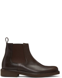 A.P.C. Brown Simeon Chelsea Boots