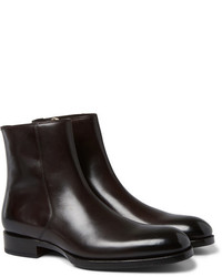 789f0b1edc5ab Men's Dark Brown Boots by Tom Ford | Men's Fashion | Lookastic.com