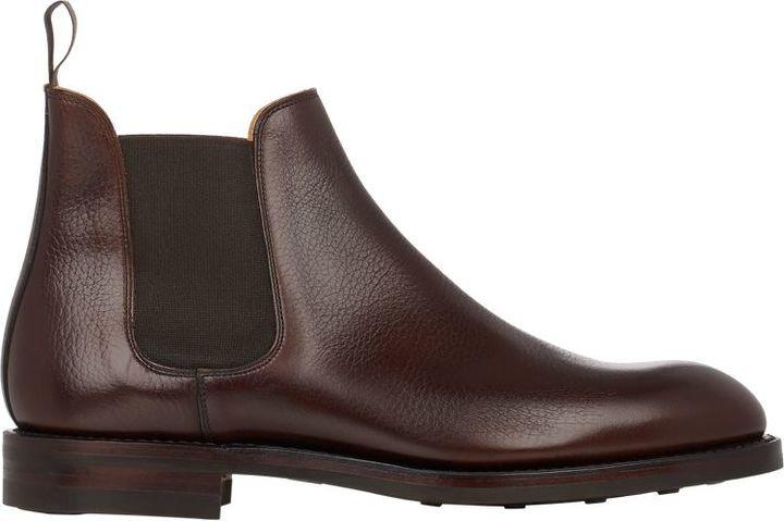 307822904b0 $740, Crockett Jones Crockett Jones Chelsea 5 Boots Dark Brown