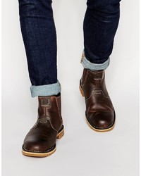 Dark Brown Chelsea Boots by Timberland