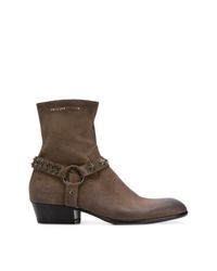 5f9dce9f47f Men s Leather Boots by Philipp Plein