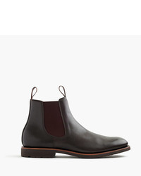 J.Crew Kenton Leather Chelsea Boots