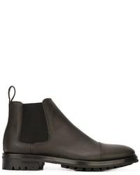 Lanvin Commando Sole Chelsea Boots