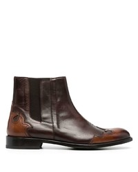 Etro Panelled Ankle Boots