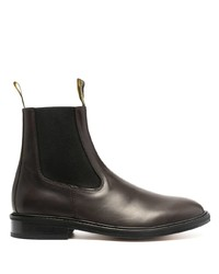 Lanvin Pull Tab Chelsea Boots