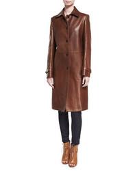 Collection paxton lambskin leather coat medium 5375504