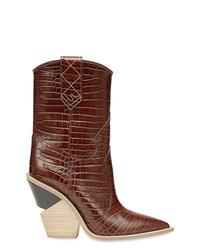 Fendi Cutwalk Pointed Toe Cowboy Boots