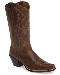 Ariat Round Up D Toe Western Boot