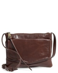 Hobo Amble Leather Crossbody Bag Red