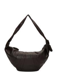 Lemaire Brown Large Croissant Bag