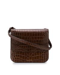Rejina Pyo Crocodile Effect Tote Bag