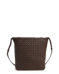 Bottega Veneta Intrecciato Cabata Leather Crossbody Bag
