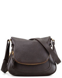 5d8ded512 Women's Dark Brown Leather Crossbody Bags by Tom Ford | Women's ...