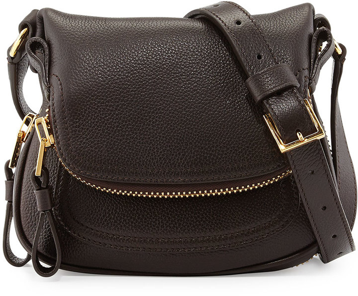 Tom Ford Jennifer Mini Crossbody Bag Brown