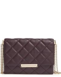 Kate Spade New York Emerson Place Overlay Lenia Leather Shoulder Bag Black