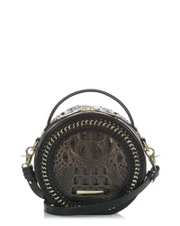 Brahmin Lane Croc Embossed Leather Crossbody Bag