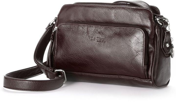 4d666f18c6dd ... La Diva Leather Crossbody Bag ...
