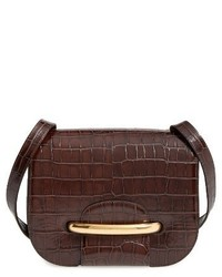 Mulberry Selwood Leather Saddle Bag Brown