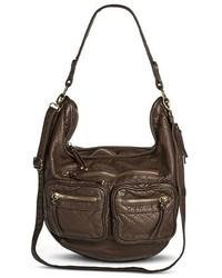 Mossimo Supply Co Hobo Handbag With Removeable Crossbody Strap Brown