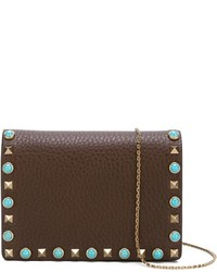 Valentino Rockstud Rolling Shoulder Bag