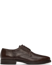 Lemaire Brown Leather Derbys