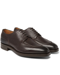 Edward Green Dover Textured Leather Derby Shoes