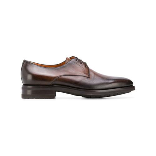 Santoni Faded Derby Shoes