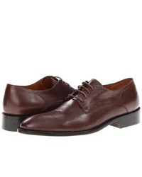 Fitzwell Alexander Plain Toe Plain Toe Shoes Brown Leather