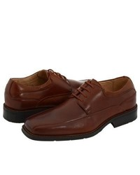 Florsheim Curtis Lace Up Bicycle Toe Shoes Brown Leather