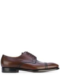 Kiton Perforated Detail Derby Shoes