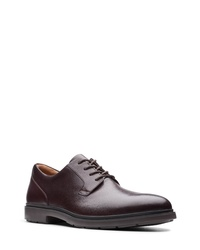 Clarks Un Tailor Plain Toe Derby