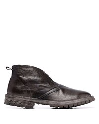 Moma Lace Up Leather Ankle Boots