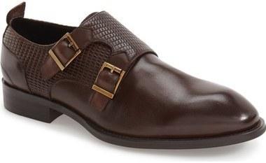 Hart Schaffner Marx Augusta Double Monk Strap Shoe