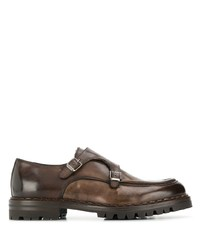 Eleventy Buckled Oxford Shoes