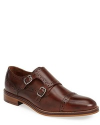 Johnston & Murphy Conard Double Monk Strap Slip On