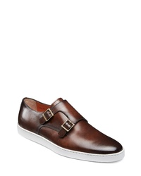 Santoni Fremont Double Monk Shoe