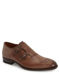 Mezlan Gris Double Monk Strap Shoe
