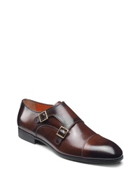 Santoni Inca Double Monk Shoe