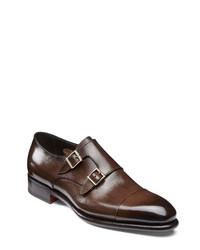 Santoni Ira Double Monk Shoe