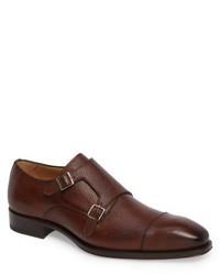 Mezlan Lubrin Double Monk Strap Shoe