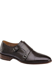 Johnston & Murphy Nolen Double Buckle Monk Strap Oxfords