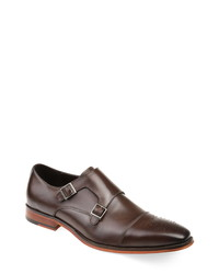 Thomas & Vine Rockwell Double Cap Toe Monk Shoe