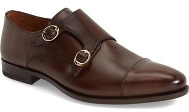 Mezlan Rosales Double Monk Strap Shoe