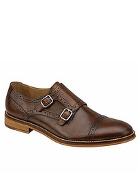 Johnston & Murphy S Conrad Double Monk Strap Loafers