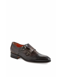 Santoni Truman Double Monk Shoe