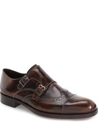 Donald J Pliner Ziggy Double Monk Strap Shoe