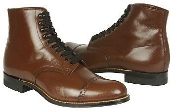 16968622b2a $134, Stacy Adams Madison Mediumwide Cap Toe Lace Up Boot